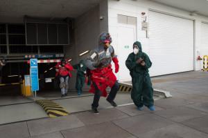 Maskottchen-Befreiung durch Nolympia